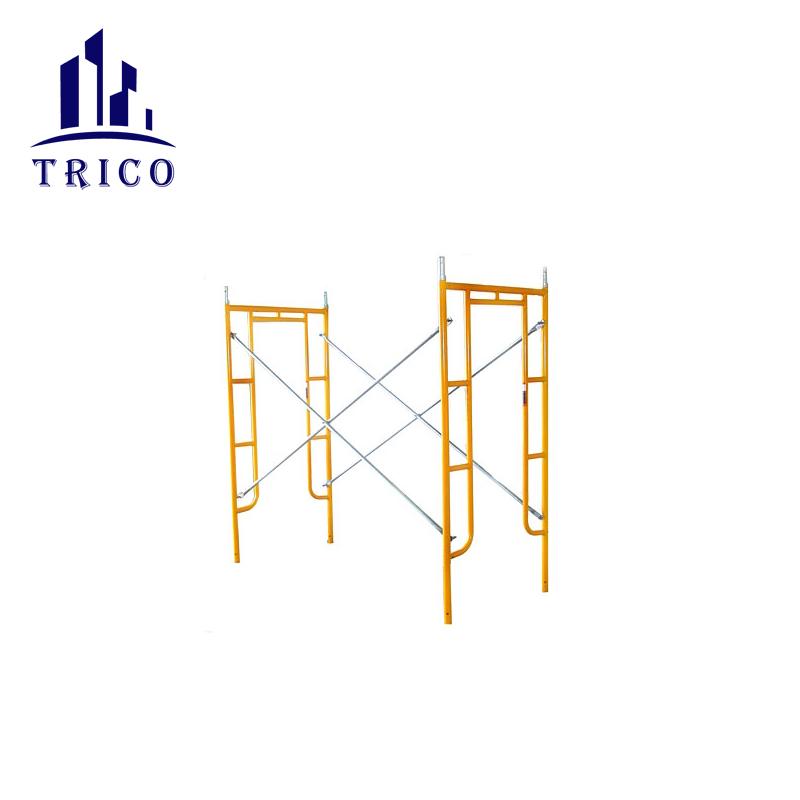 Construction Scaffolding System Galvanized Steel Ladder