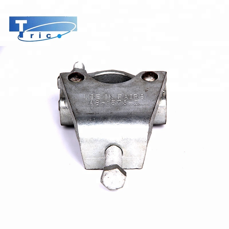 Building material scaffold fittings drop forged fixed girder coupler