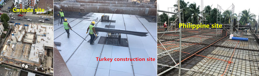 Plastic formwork replacement plywood for construction