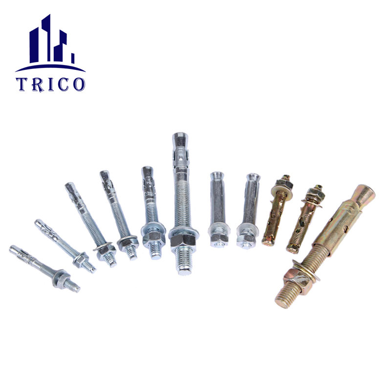 Fasteners expansion anchor bolts