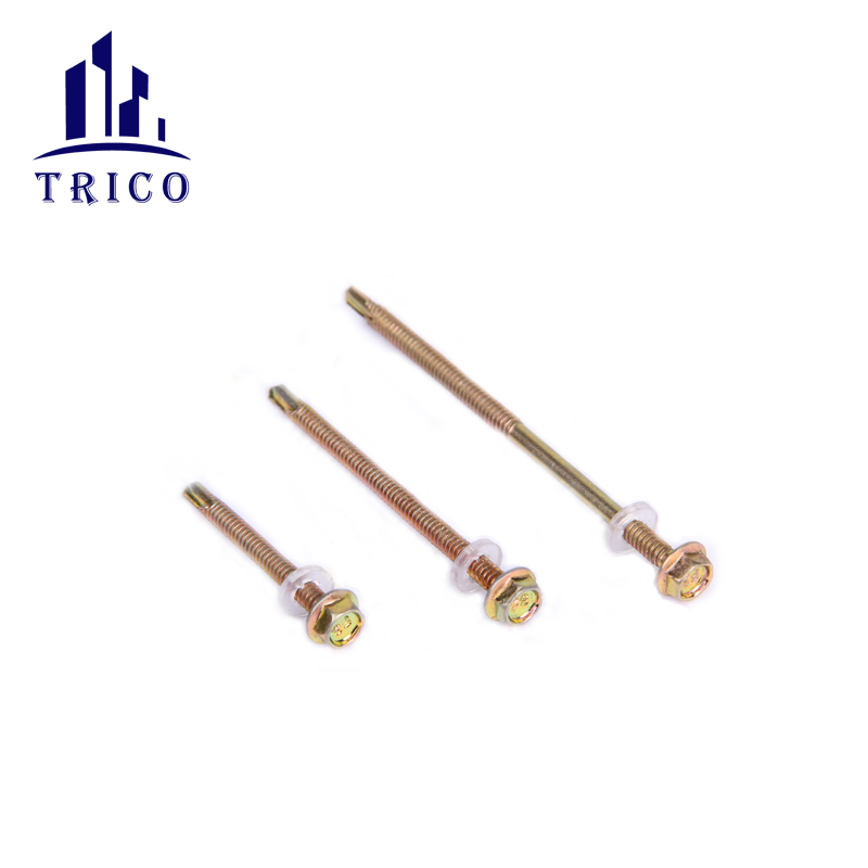 Construction accessories fastener self drilling screw
