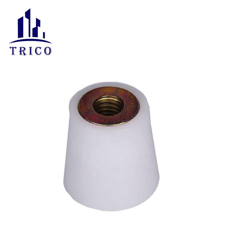 Construction concrete formtie system plastic d cone inner unit