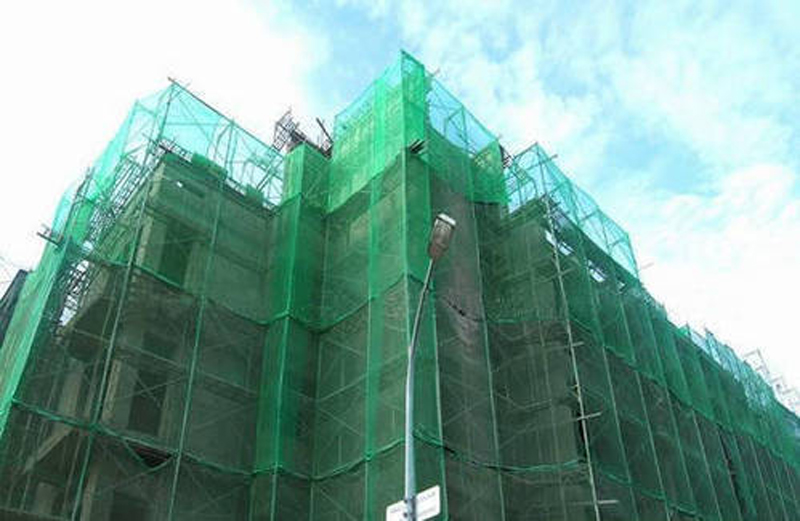 Construction Scaffolding HDPE Safety Net