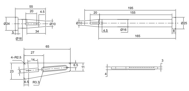 Wedge Pin for Formwork System