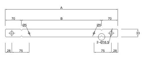Flat Form Tie