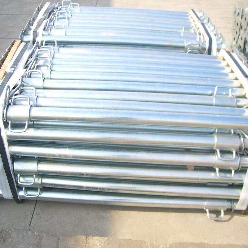 construction shoring adjustable steel prop