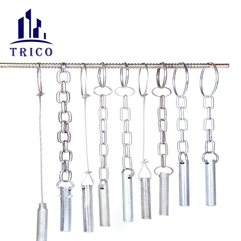 Scaffolding Support Pin with Wire and Chain