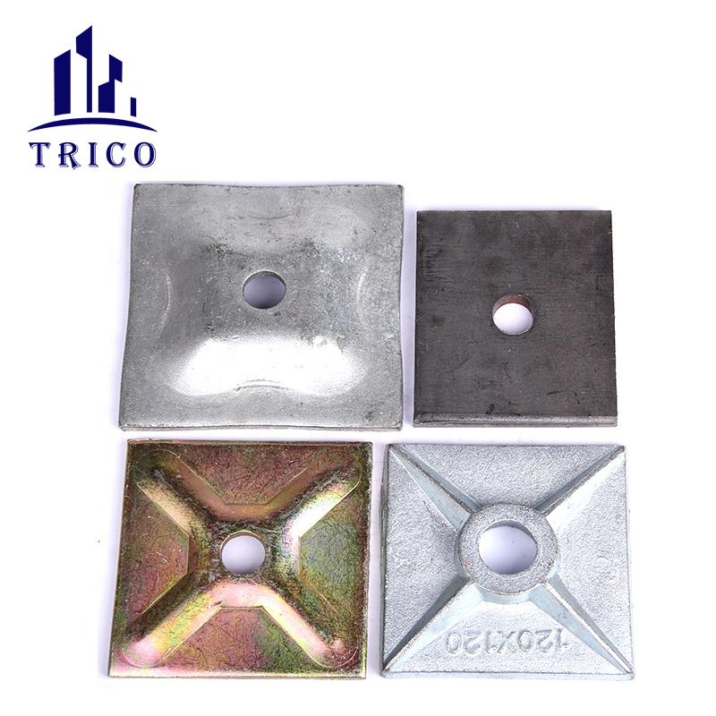Aluminum Formwork  Acessories Sepa Bolt Waler Plate Wedge Pin Clamp Waler Bracket