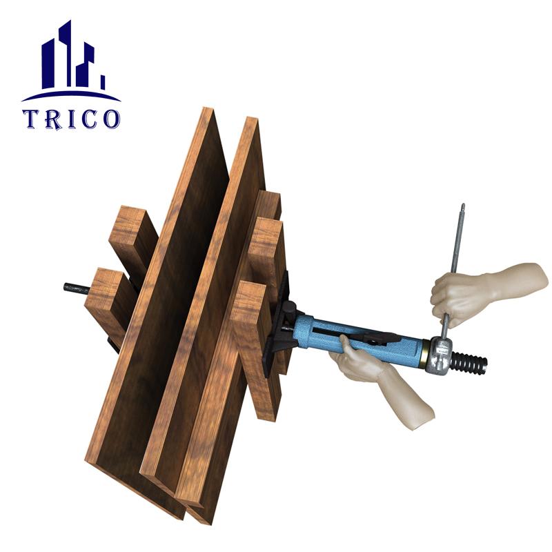formwork accessories steel bar rapid tensioner clamp