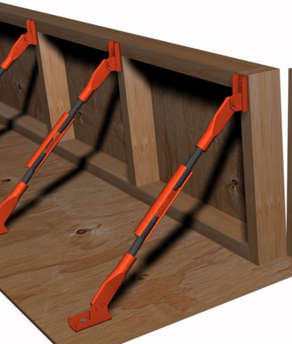 Turnbuckle form aligner plywood foring system