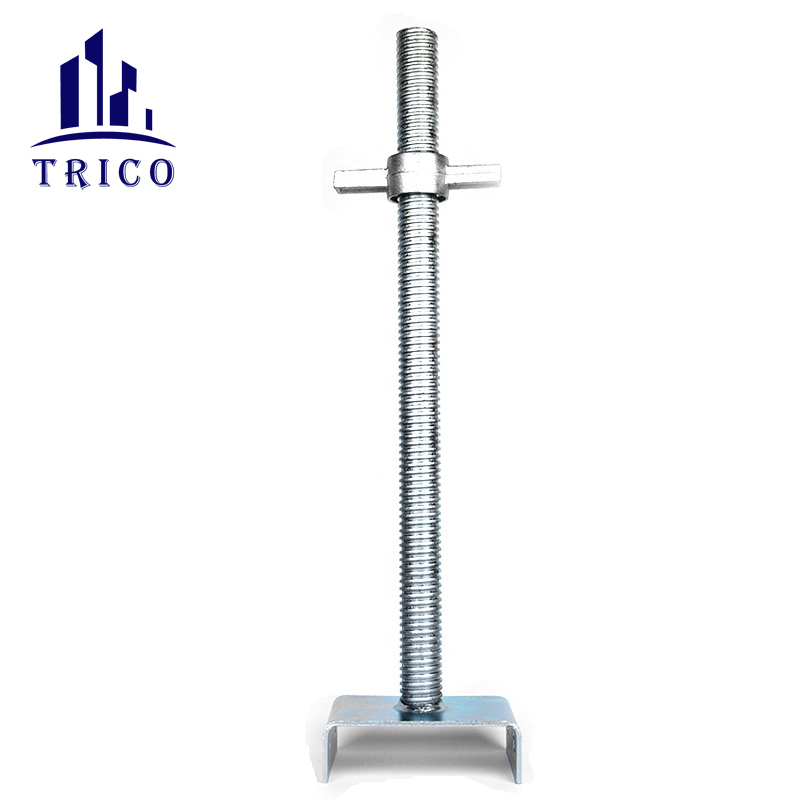 U Head Scaffolding Jack Base