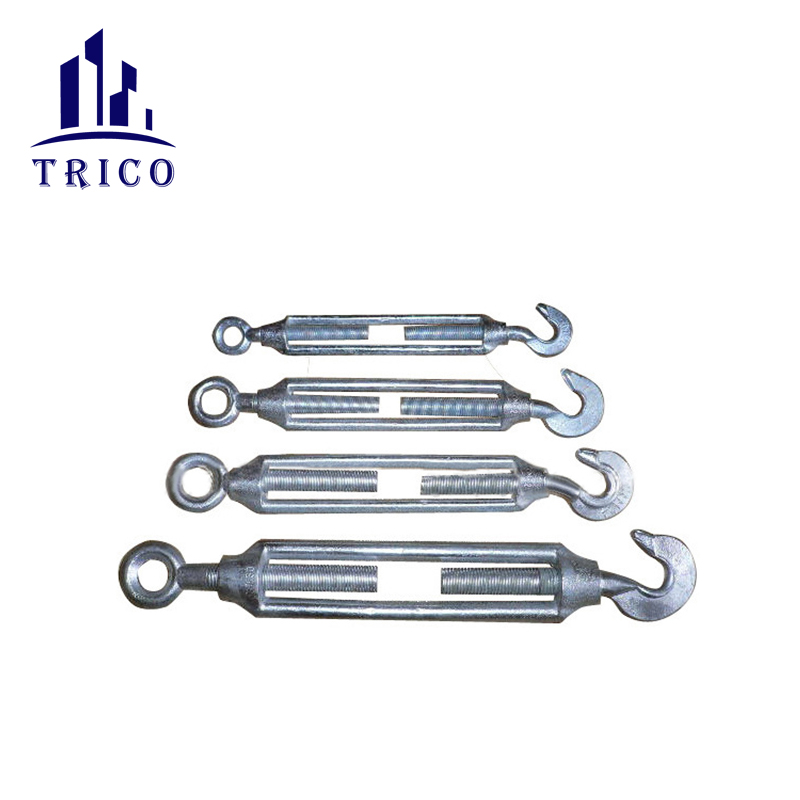 Hot Sale Commercial Type Galvanized Malleable Iron Turnbuckle with Eye and Hook
