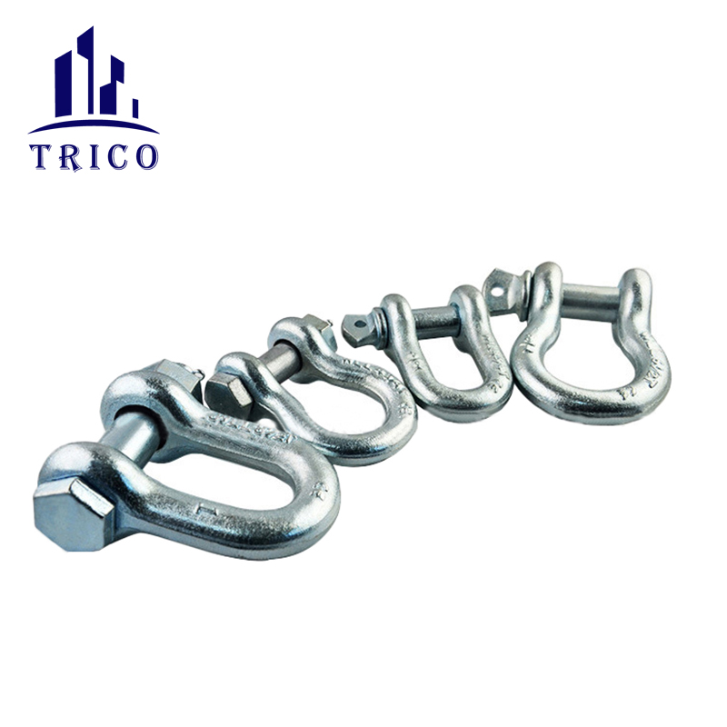 GALVANIZED SHACKLE FOR LIFTING