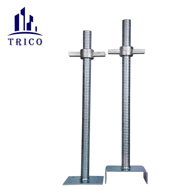 Aluminum formwork adjustable Solid Base Jack