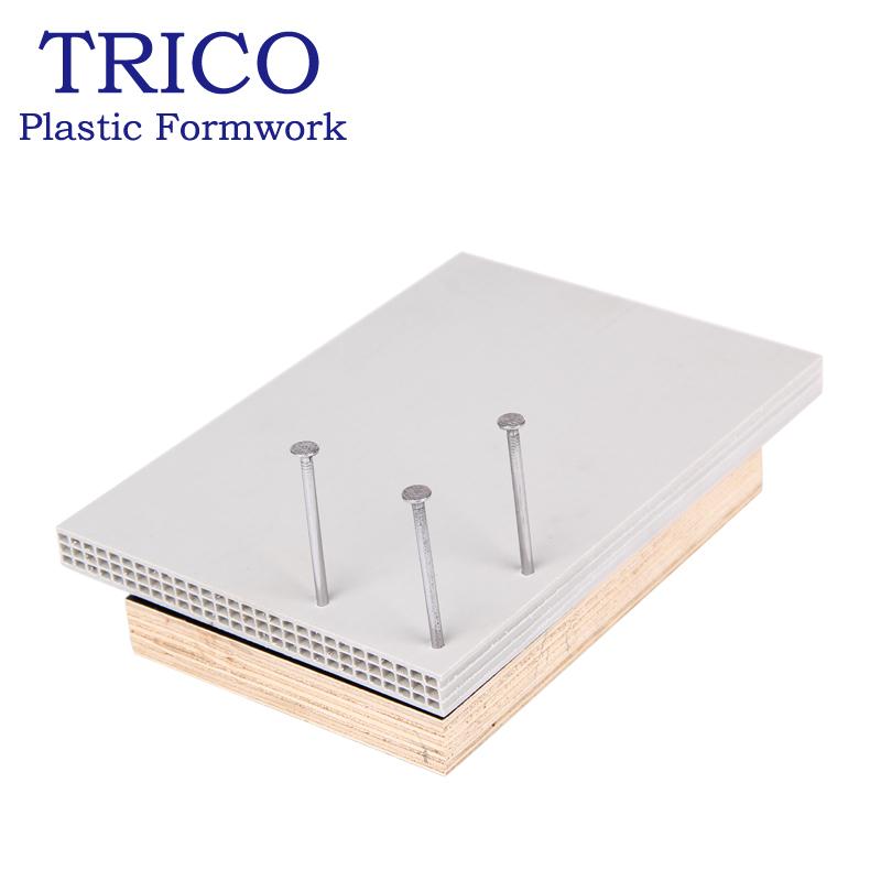 Several Significant Advantages Of Plastic Building Formwork