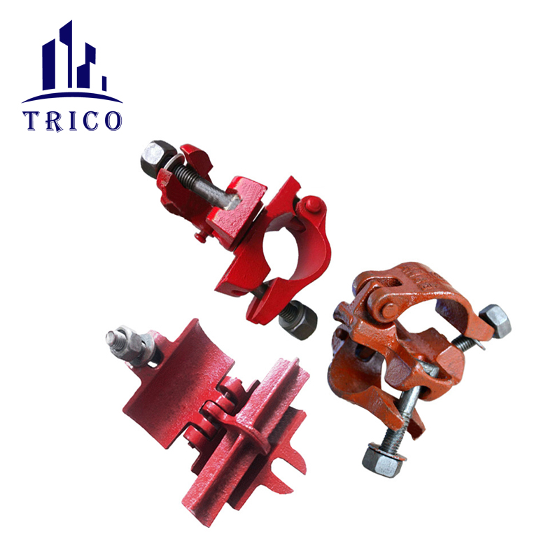 High Quality Factory Price Malleable Iron/Casting Swivel and Fixed Scaffolding Clamp/Coupler