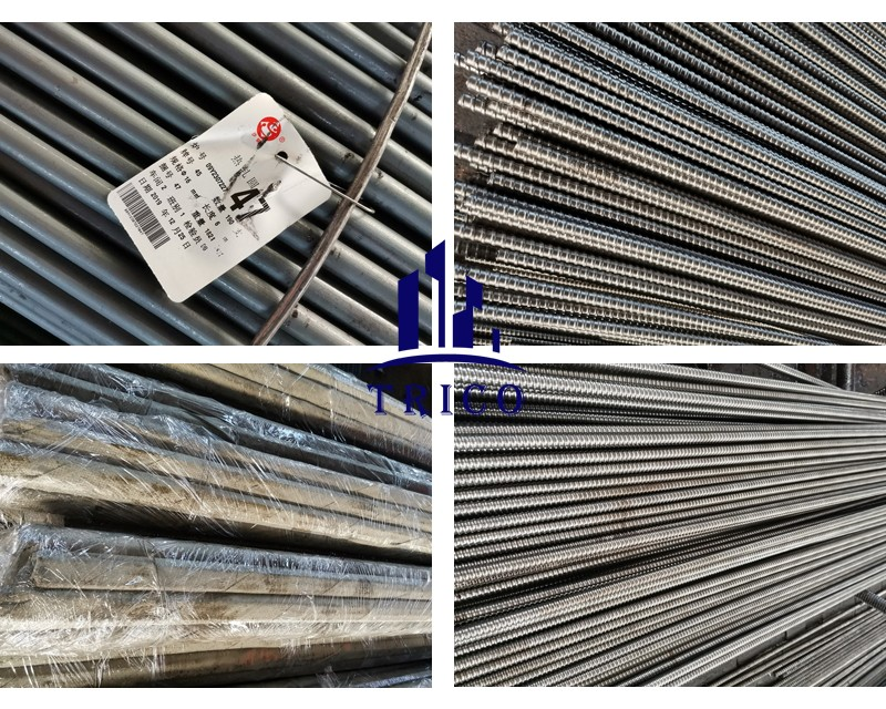 Construction Formwork Accessory Cold Rolled Steel Tie Rod