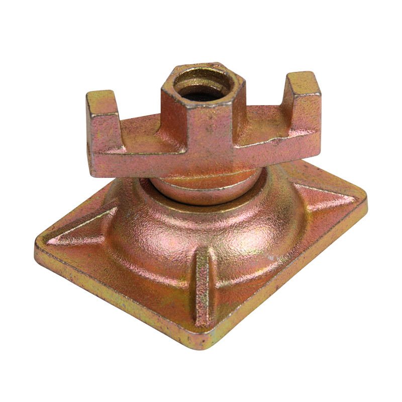 Formwork System Tie Rod Combination Swivel Nut with Plate