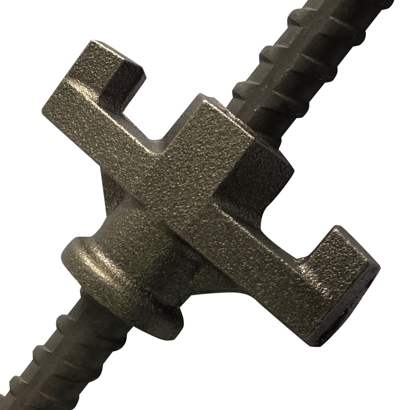 Concrete Formwork Galvanized Casing Iron Tie Nut Anchor Nut