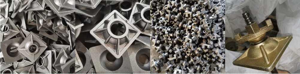 Formwork System Tie Rod Swivel Combination Plate Nut