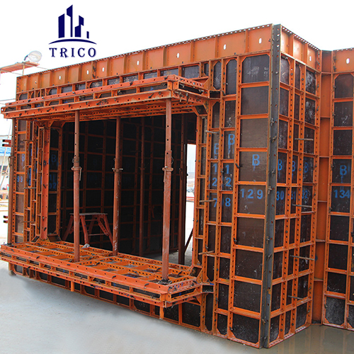 Steel Plwywood Forming System X Flat Tie and Wedge Bols for Steel Panel Fillers Lock
