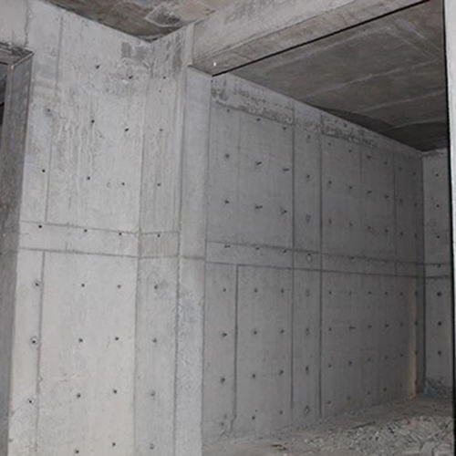 Analysis of New Design Round Hole Hollow Plastic Formwork Board