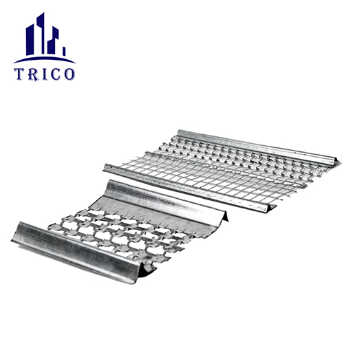 Construction Hy-Ribbed Formwork sheet as the concrete permanent assembly free sheet is much convenient for engineering