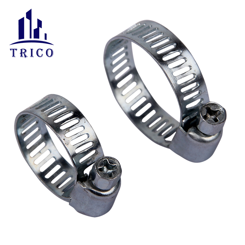 Small Size Gas Sealing Stainless Steel Band Hydraulic Hose Clamps
