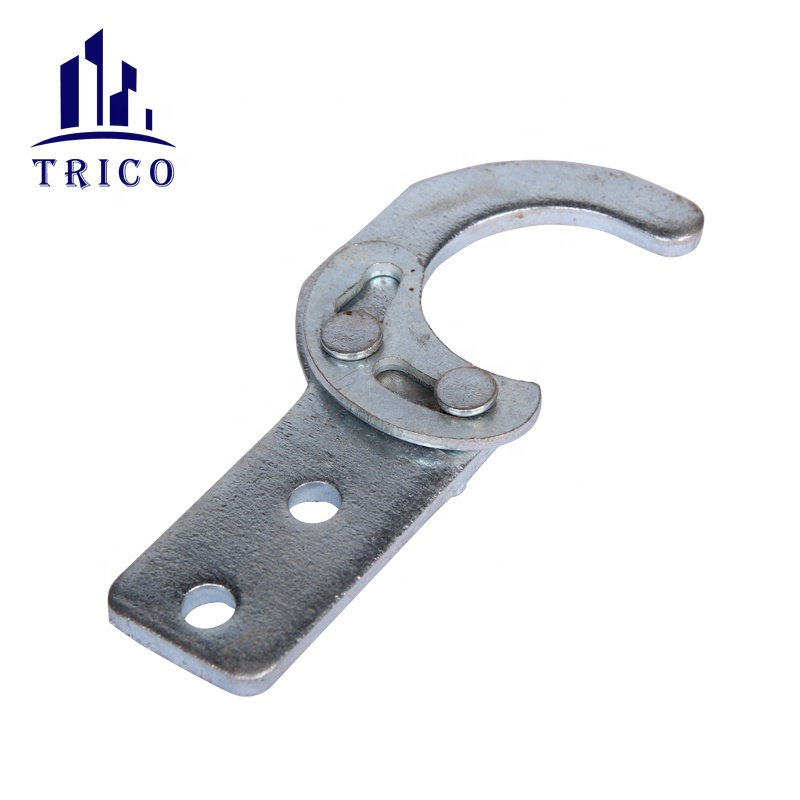 Galvanized scaffolding steel walking plank hook