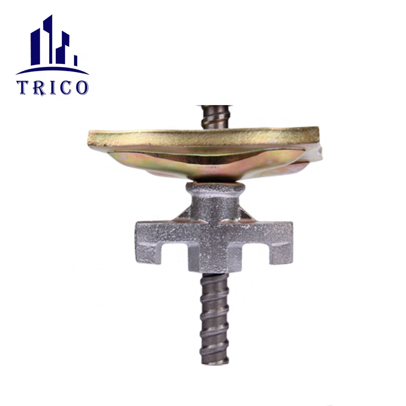 Tie rod wing nut tie nut waler plate for construction formwork