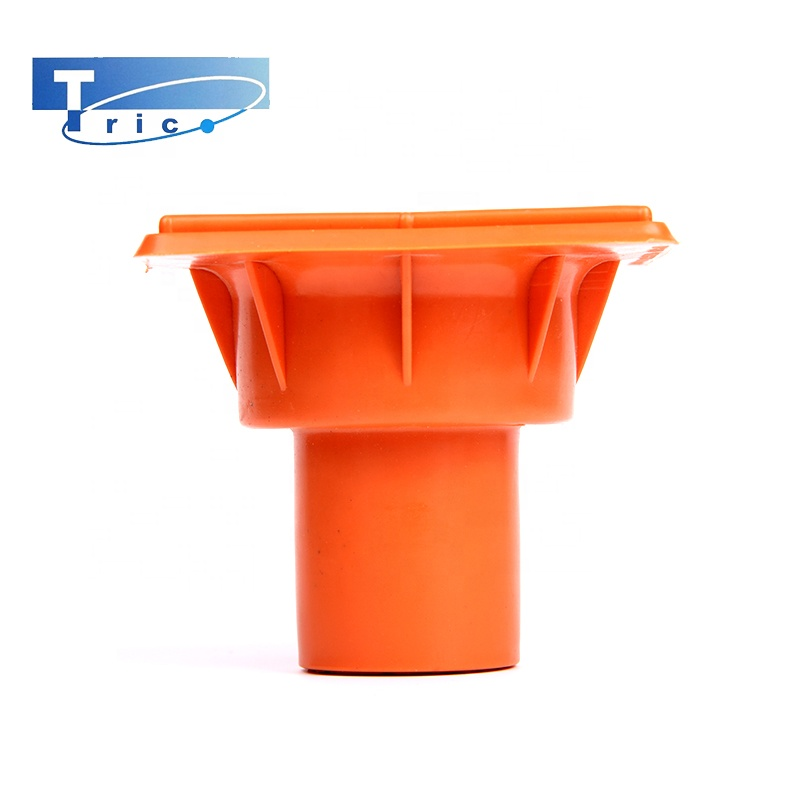 Building material plastic fittings for rebar square safety end cap