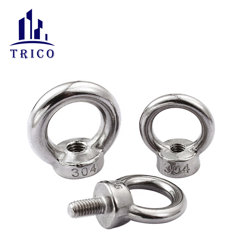 Zinc Plated Drop Forged DIN580 Eye Screw Bolts for Fastener