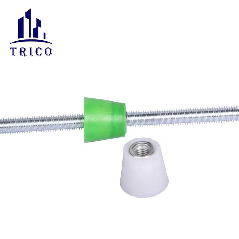 Formwork Construction Accessories Plastic D cone P Cone Nut