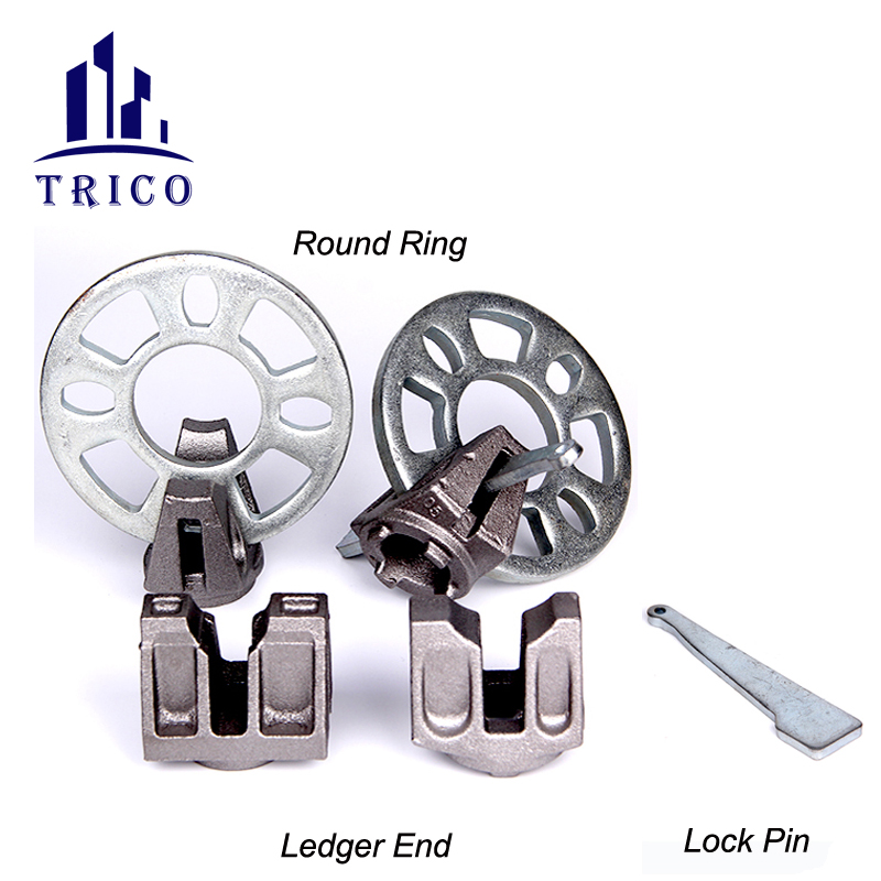 Ringlock Scaffolding Ledger End Brace End and Rosette