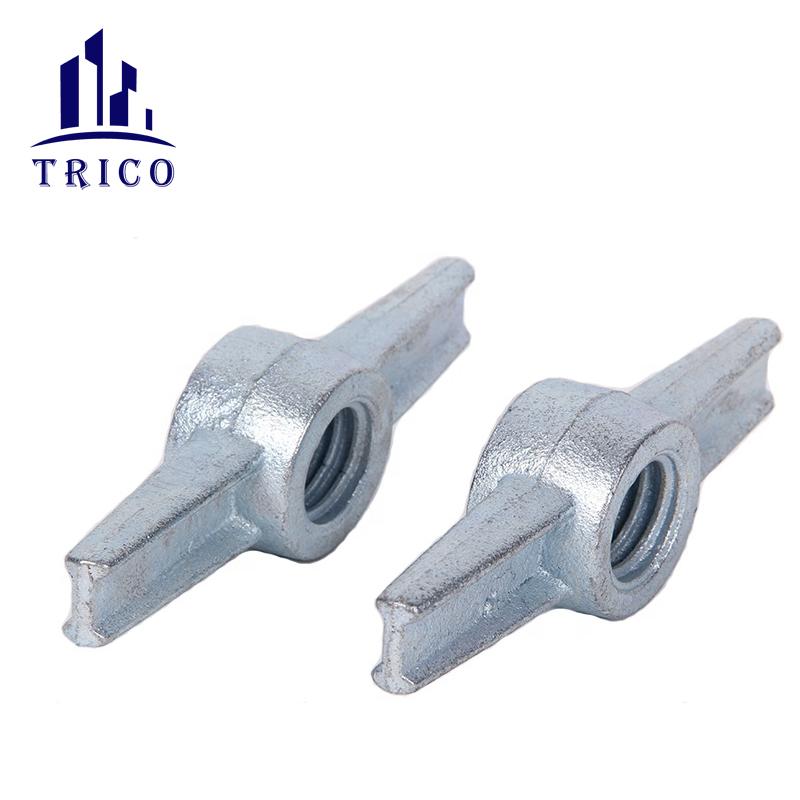 Aluminum formwork casting jack nut for adjustable screw base jack