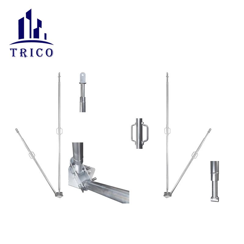 Aluminum Formwork Accessories Tilt Braces Tilt Panel Prop