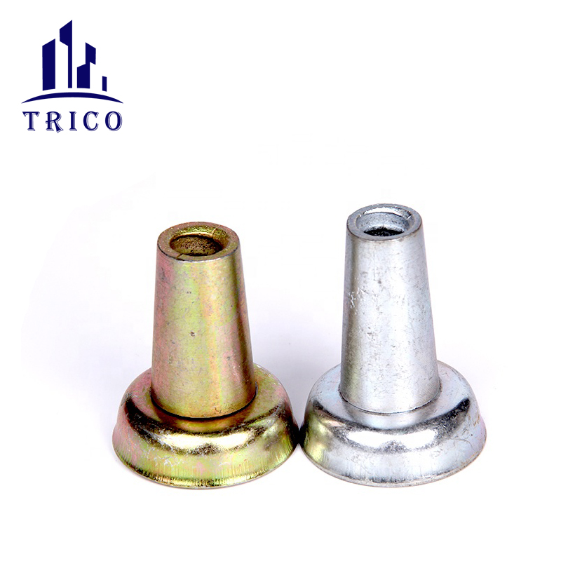 Formwork accessories 15/17mm galvanized steel cone