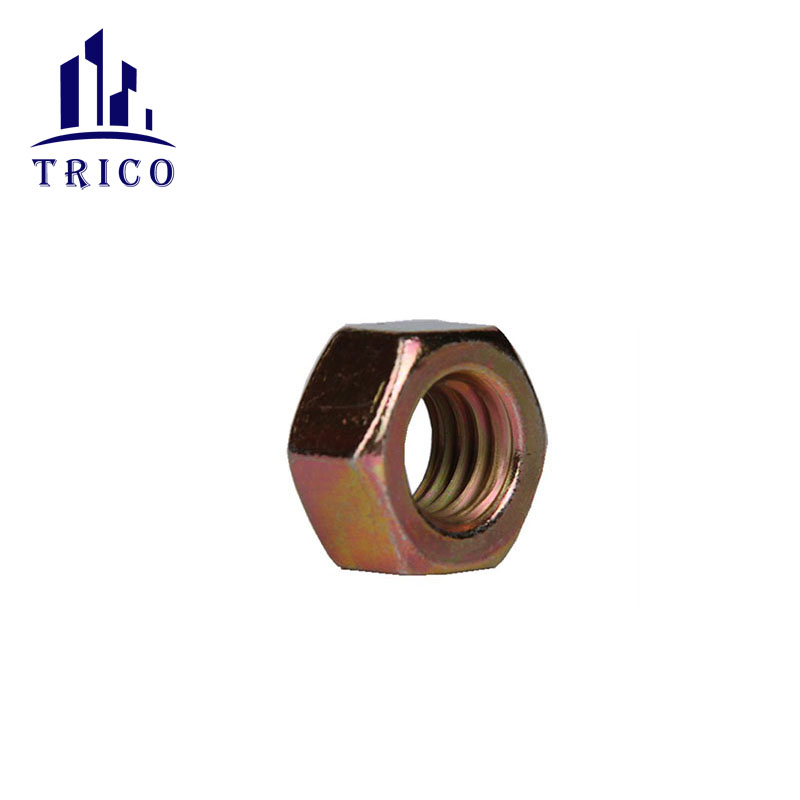 Accessories M20/22 tie bar fittings 1/2 Steel Hex Nut