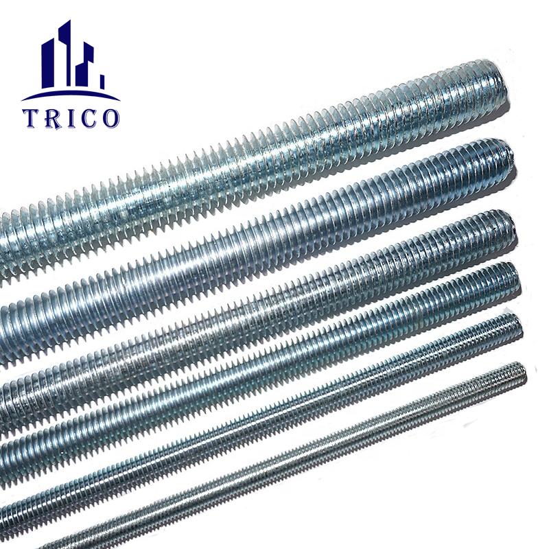 Wall Reinforcement Galvanized Thread Bar Thread Rod M12/M16/M20