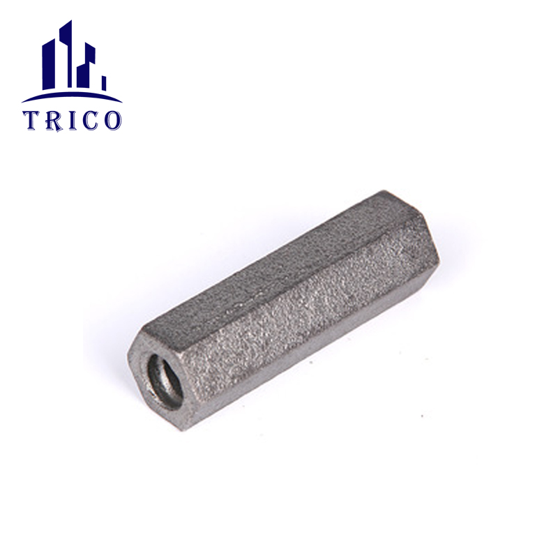 Formwork Accessories Cast Iron Long Hex Nut