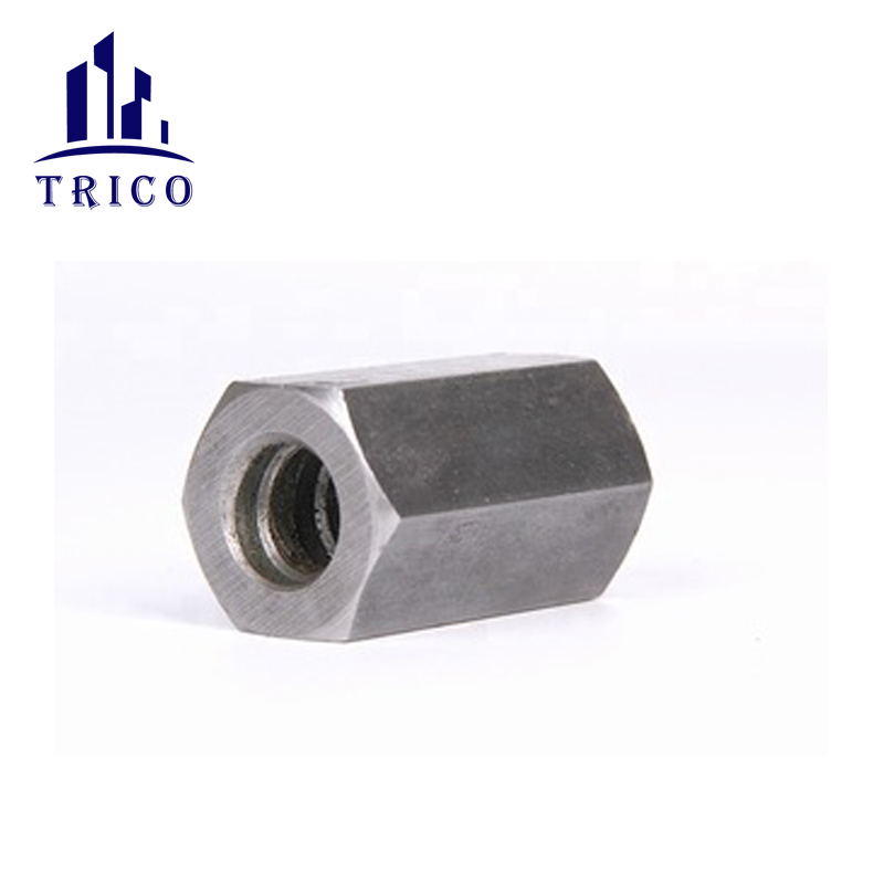 45# steel connector hex nut for formwork tie rod system