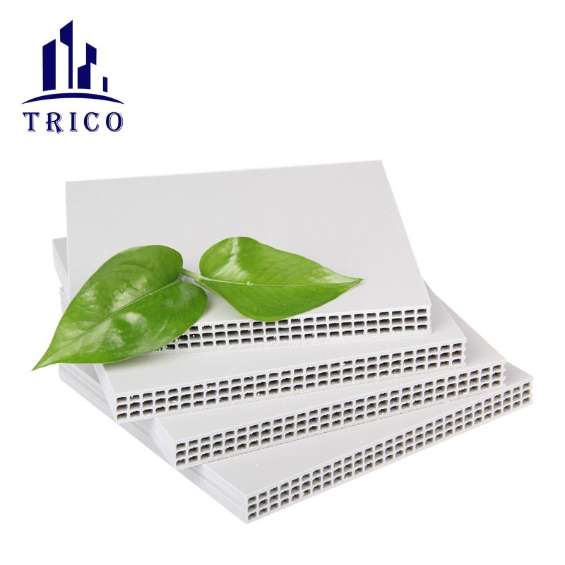 12-20mm Reusable Plastic building formwok for concrete