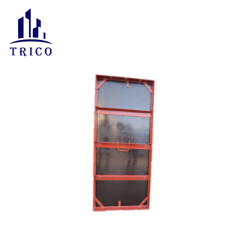 Steel Frame Plywood Forming Panel and filler