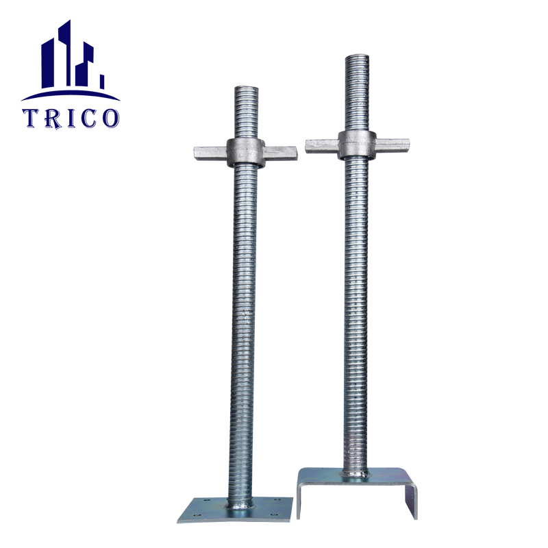 Aluminum formwork adjustable Solid Base Jack