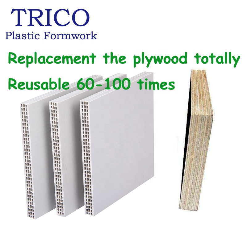 Hollow Plastic Formwork Board