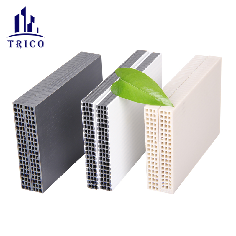 Reusable 60 times 18mm plastic hollow formwork for tall building