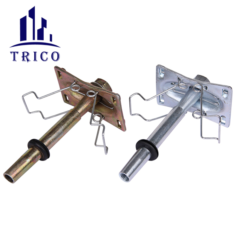 Construction Wall Concrete One Touch Form Tie System One Touch Clamp Euro Unit