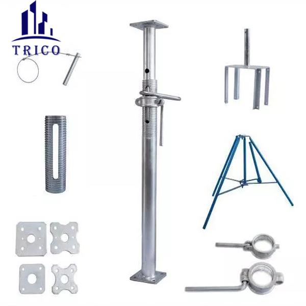 Aluminum Formwork Construction Shoring Adjustable Steel Prop