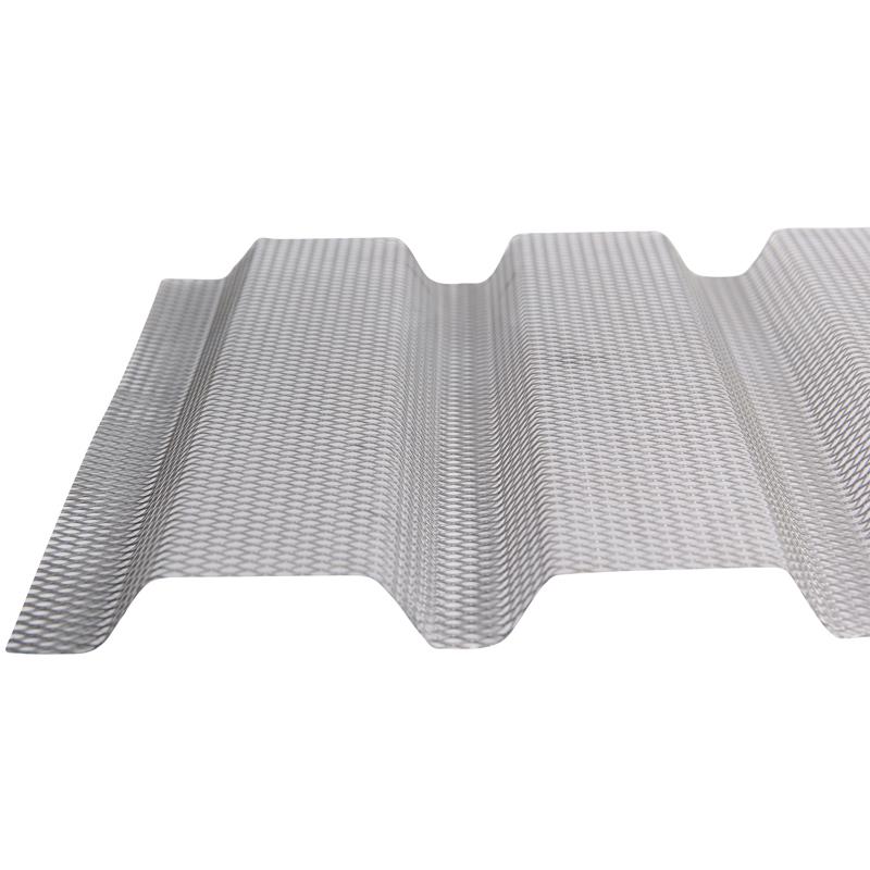 Building Materials Galvanized Steel Sheet Metal Rib Lath  Hy Rib Lath for Concrete Formwork