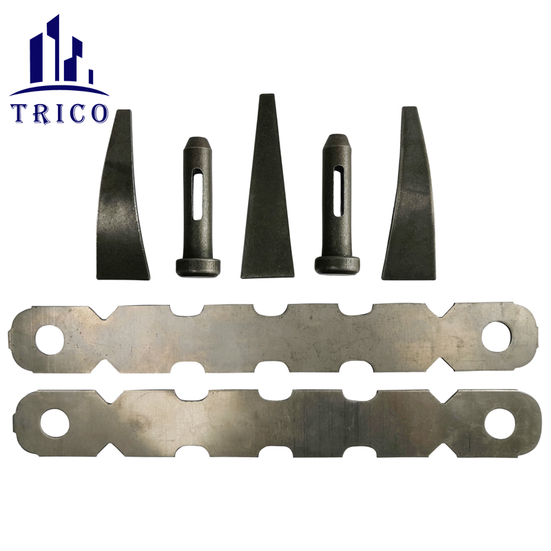 Wall Concrete Aluminum Formwork Full Tie Nominal Tie with Standard Bolt and Wedge Pin